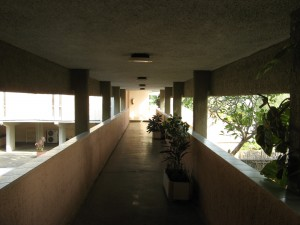 14. walkway to room units