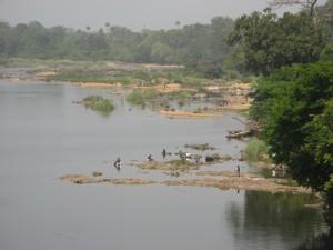 Moa River dry season