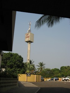 7. the iconic watertower sign